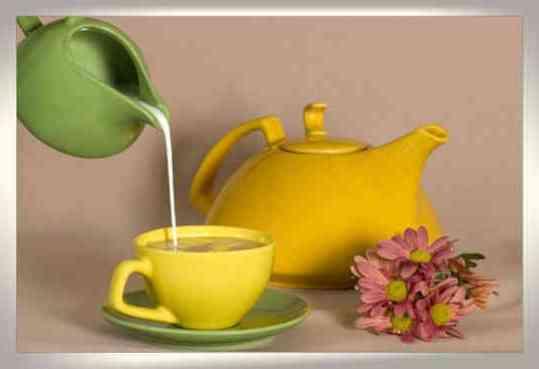 а. молочная диета с зеленным чаем