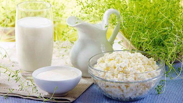 а. молочные диеты