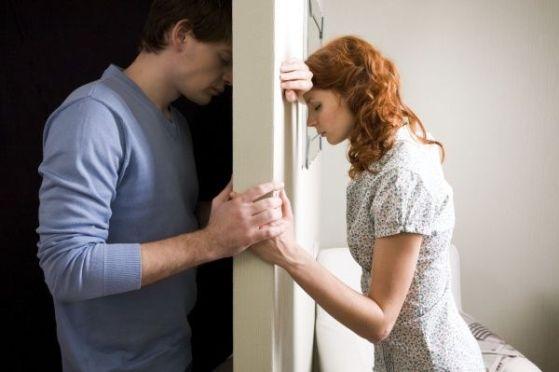 а. угрызения совести после разлуки