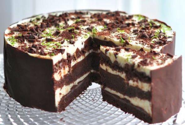 самый вкусный в мире торт шоко-лайм