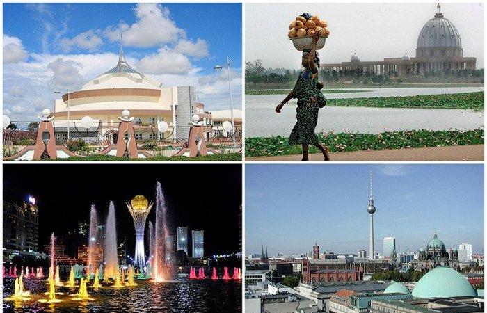 а. столицы всех стран мира