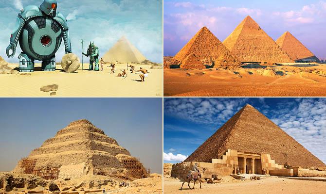 а. факты о пирамидах