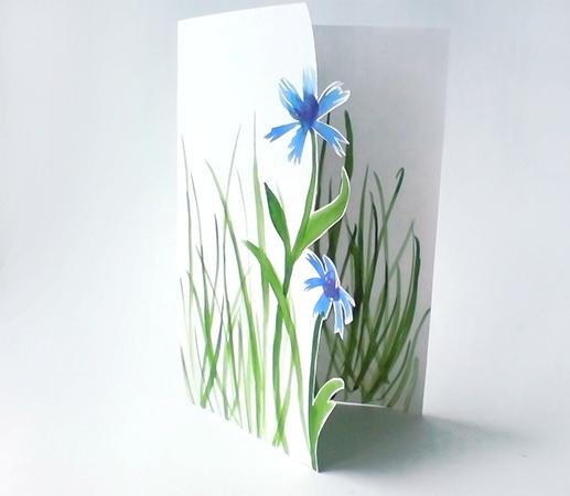 а. открытка на 8 марта цветы 3