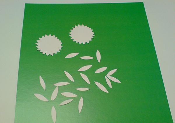 а. открытка с ромашками на 8 марта 4