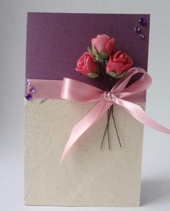 а. открытка с розами 5