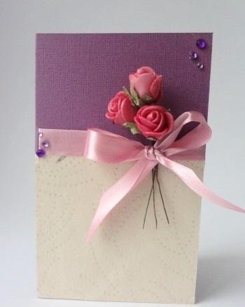 а. открытка с розами