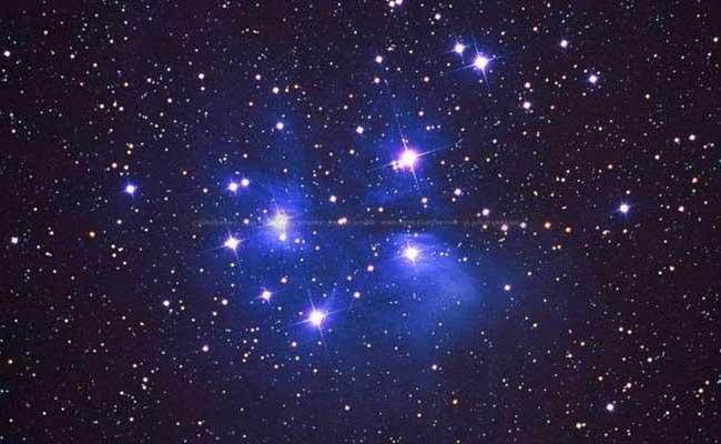 а. скопление плеяды звезд
