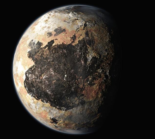 а. планета плутон космические снимки
