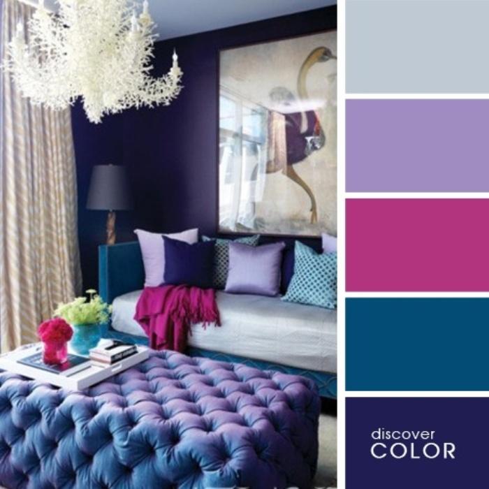 а. сочетание цветов в дизайне интерьера 11
