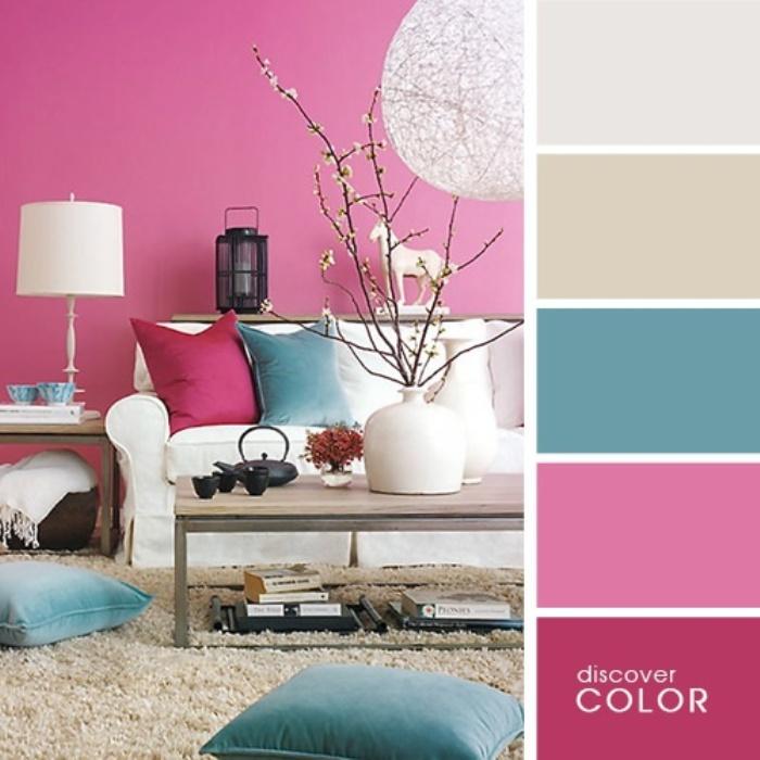 а. сочетание цветов в дизайне интерьера 14