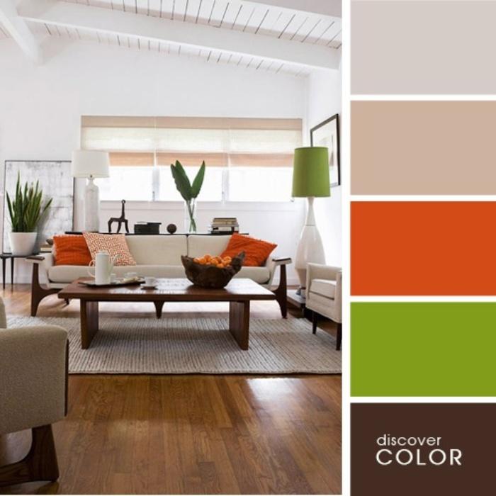 а. сочетание цветов в дизайне интерьера 16