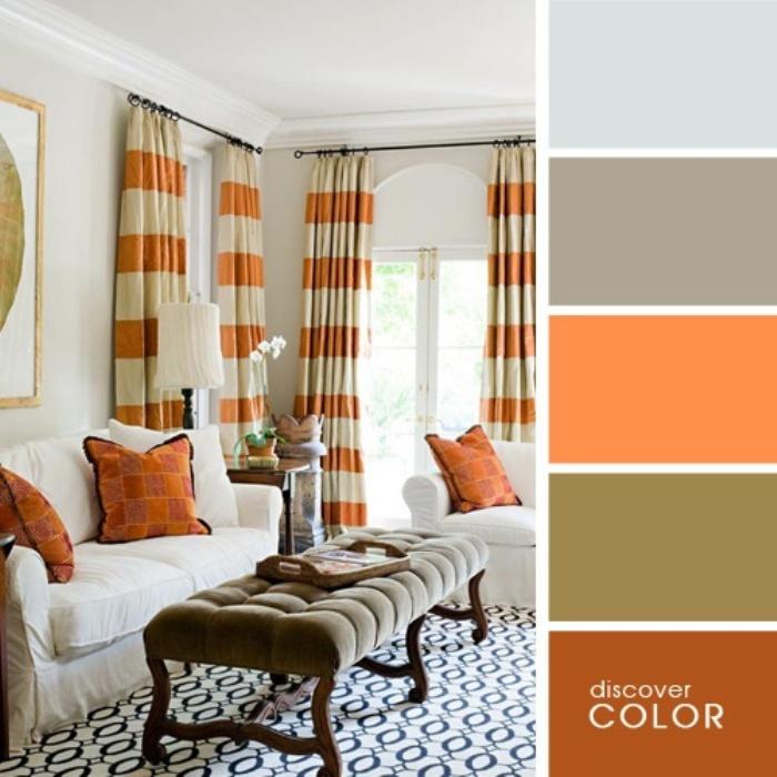 а. сочетание цветов в дизайне интерьера 18