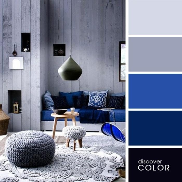 а. сочетание цветов в дизайне интерьера 2