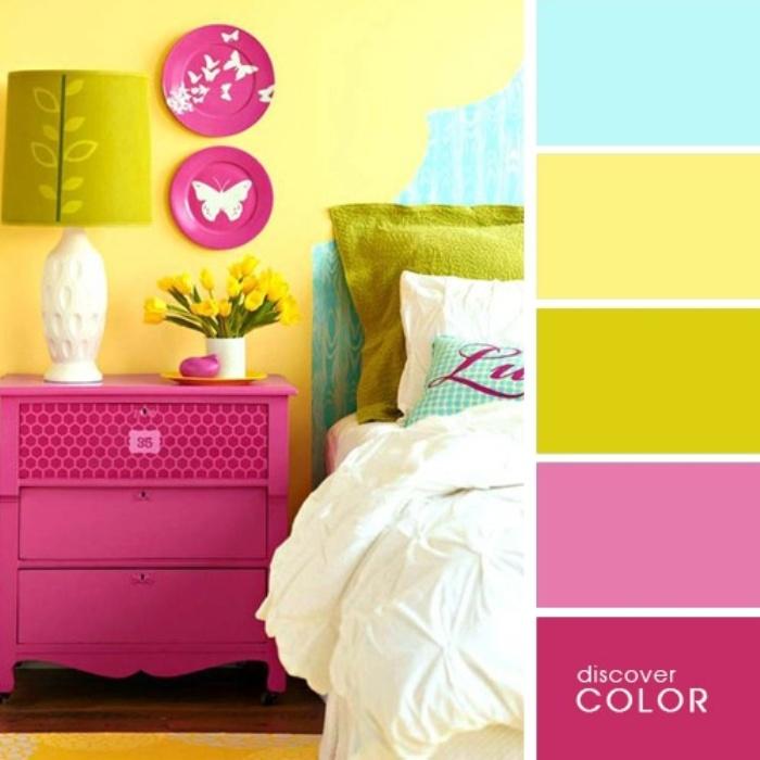 а. сочетание цветов в дизайне интерьера 3