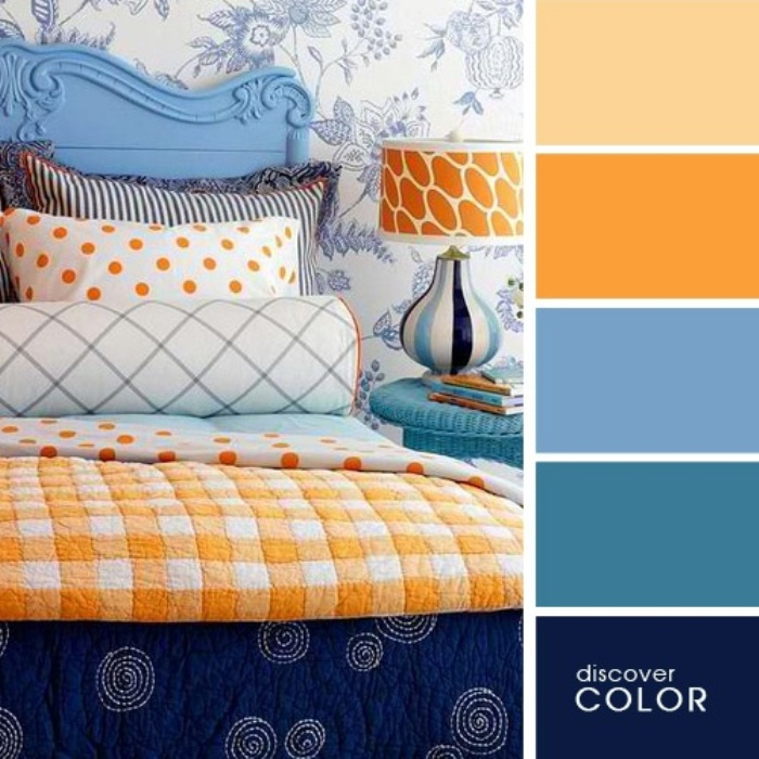 а. сочетание цветов в дизайне интерьера 4
