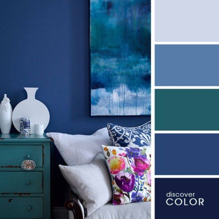 а. сочетание цветов в дизайне интерьера 6