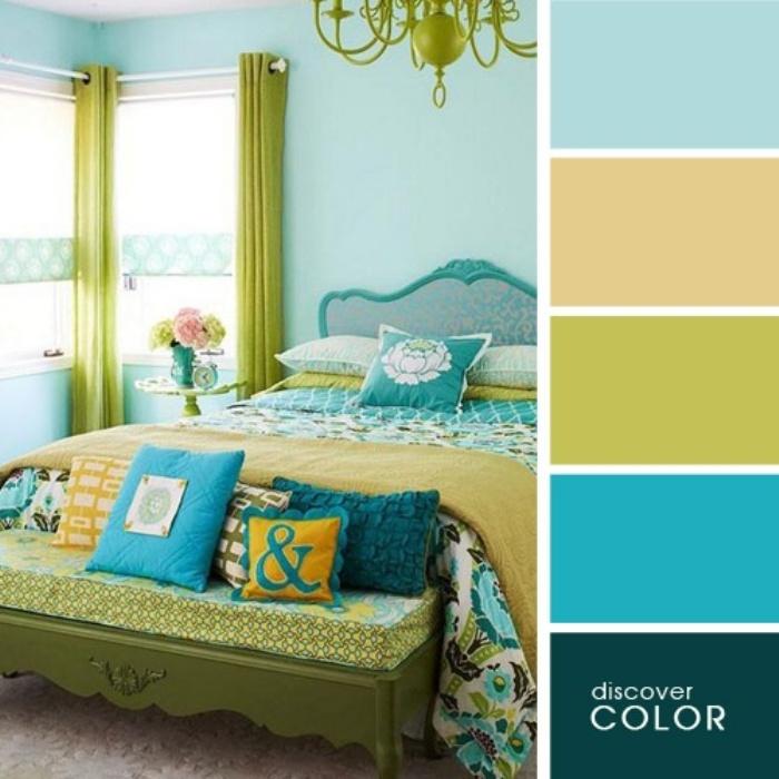 а. сочетание цветов в дизайне интерьера 7