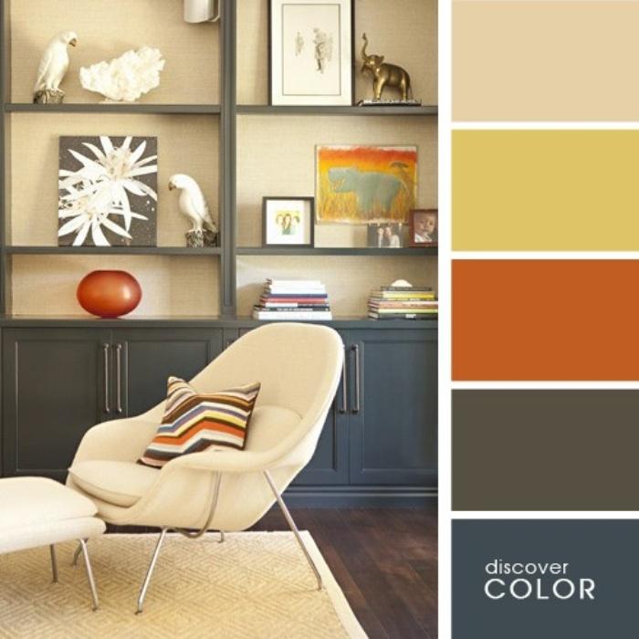 а. сочетание цветов в дизайне интерьера 8