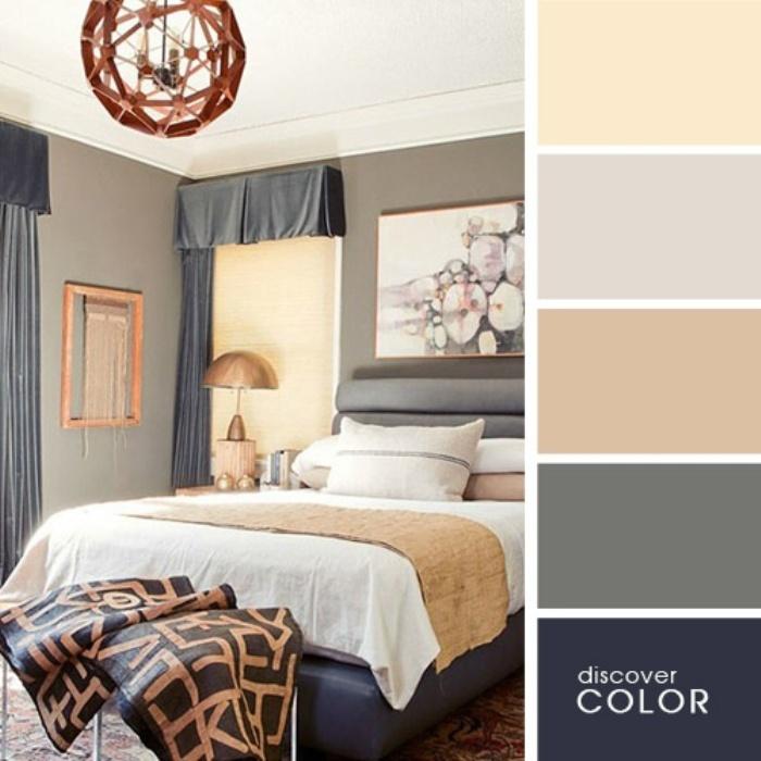 а. сочетание цветов в дизайне интерьера