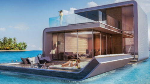 а. 1. Компания Developer Kleindienst Group планирует построить 42 плавающих жилых комплекса 1