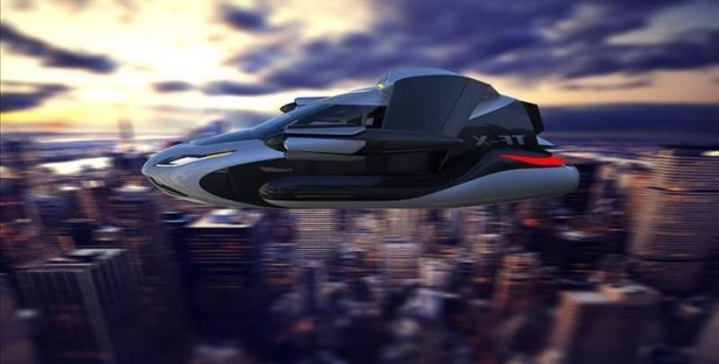 а. 1. летающий автомобиль Terrafugia T-FX с автопилотом 3