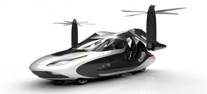 а. 1. летающий автомобиль Terrafugia T-FX с автопилотом 6
