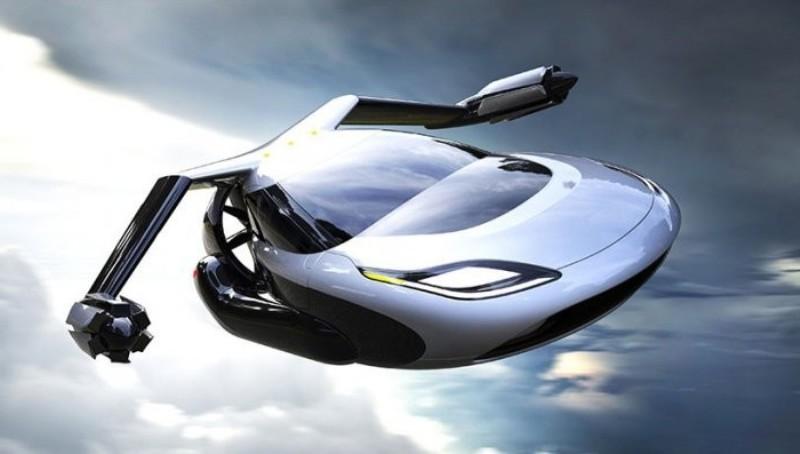 а. 1. летающий автомобиль Terrafugia T-FX с автопилотом