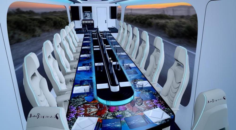 1. 1. Dinner on the Road — первый в мире мобильный ресторан 1