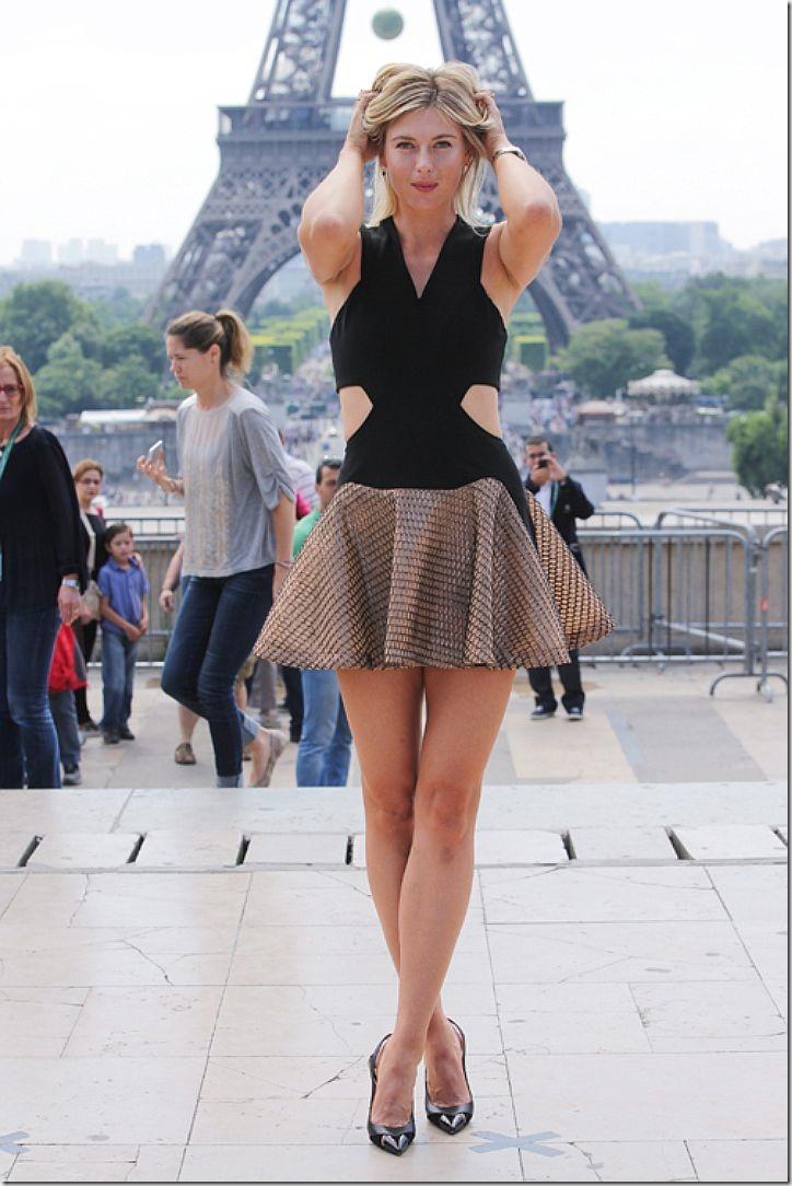 а. 1. шарапова в париже