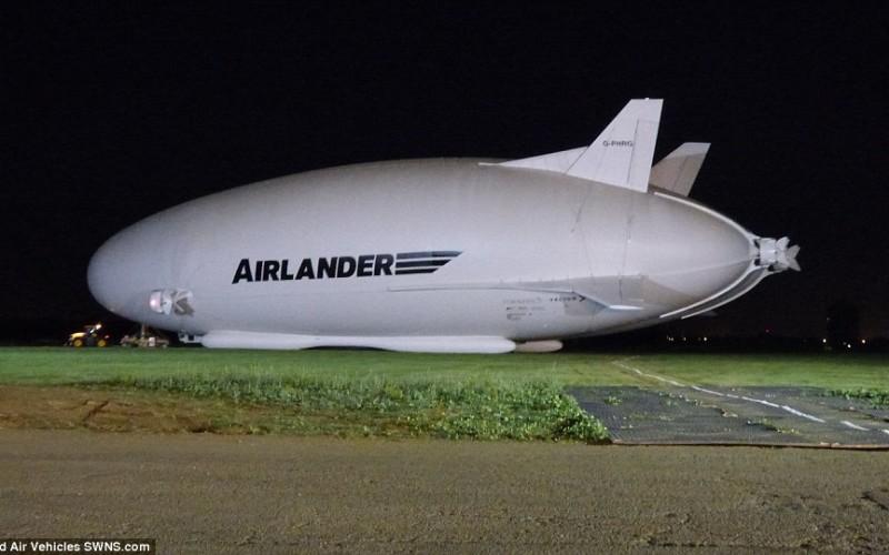 самое большое в мире гибридное воздушное судно Airlander 10…