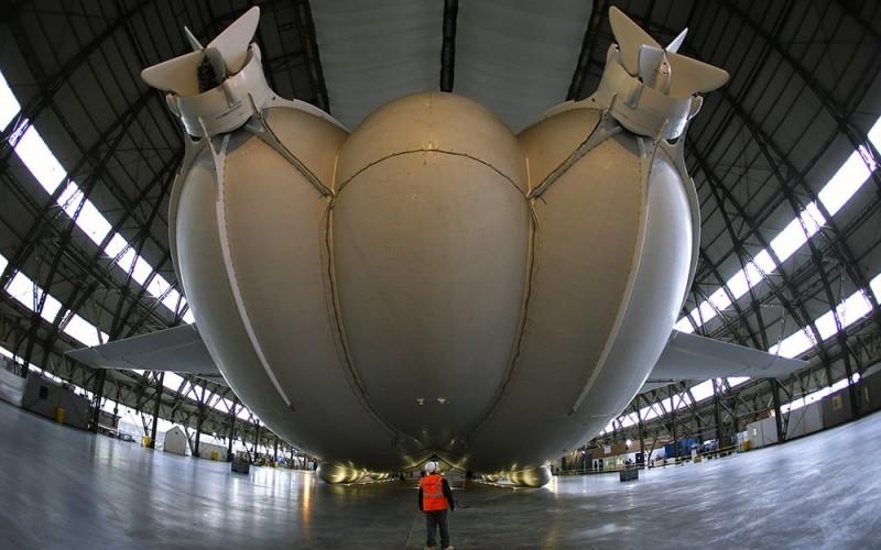 самое большое в мире воздушное судно Airlander 10 (2)