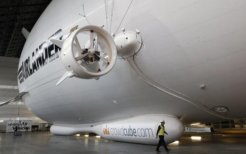самое большое в мире воздушное судно Airlander 10