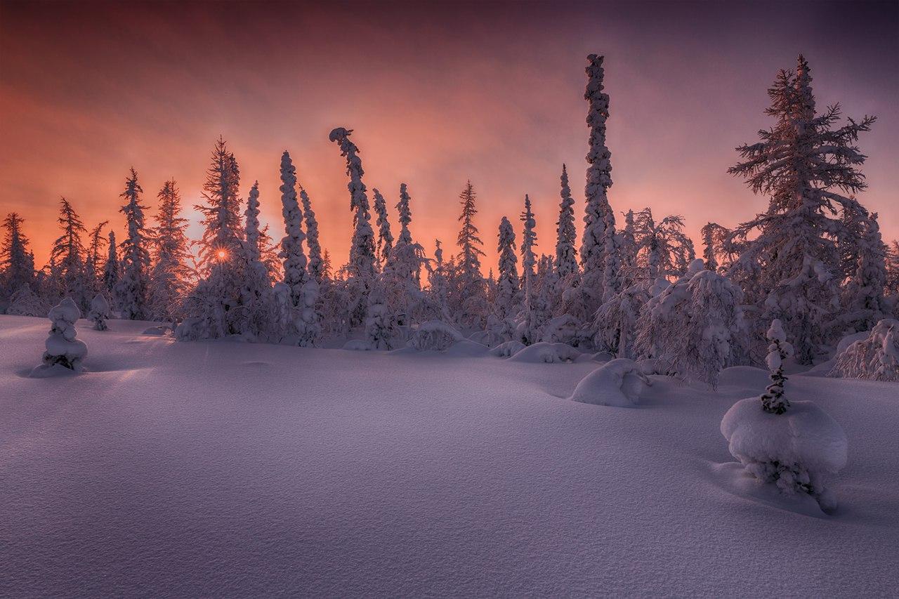 Zima-v-Rossii.-Salihard-Sibir-zakat-solntsa-avtor-snimka-Evgenij-Kuzhilev