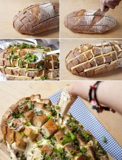 Poleznye-sovety-na-kuhne-pekem-hleb-s-syrom-i-zelenyu