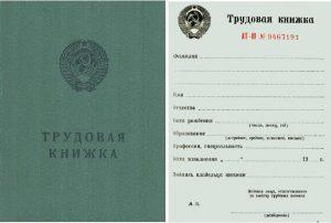 trudovaya-knizhka-Rossii-v-sovetskoe-vremya-obraztsa-1973-goda