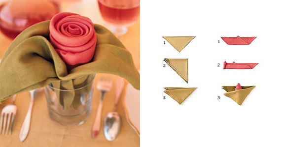 idei-krasivyh-salfetok-dlya-prazdnichnogo-stola-roza