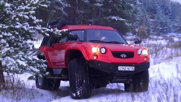 vezdehod-amfibiya-viking-Rossijskij-avtomobil-vnedorozhnik-foto-video-obzor