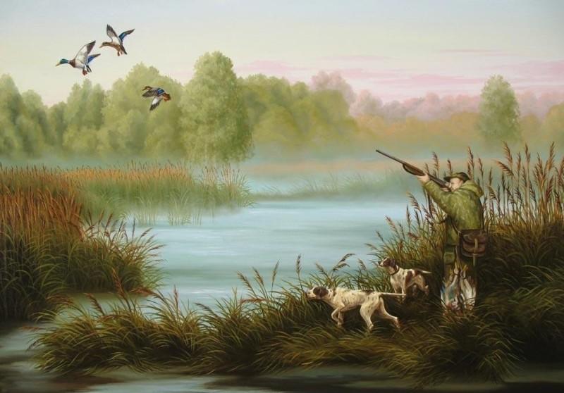 Красивые картинки с охотниками