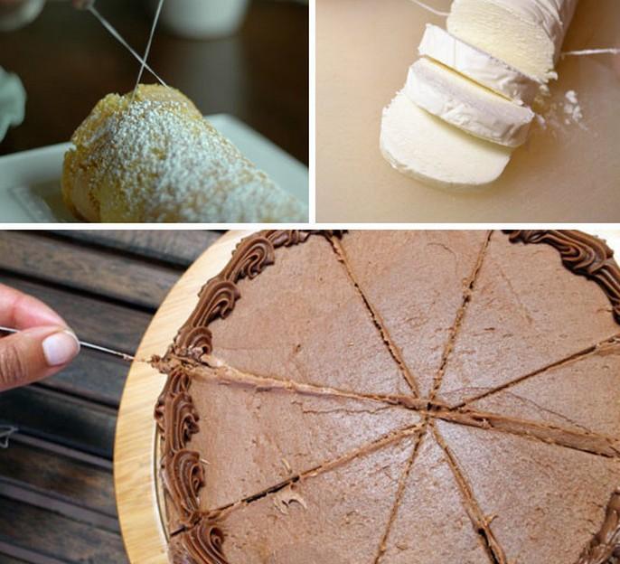 neobychnye-kulinarnye-hitrosti-i-sovety-foto-rezat-tort-rulet-zubnoj-nityu