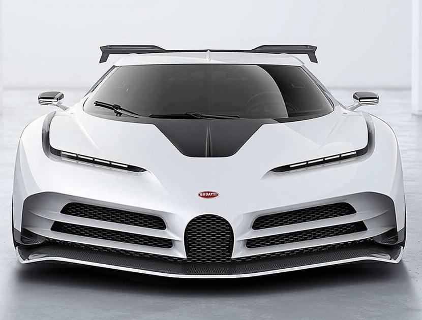 superkar-ruchnoj-sborki-Bugatti-Centodieci-2020-foto-vid-speredi-harakteristika-avto-tsena