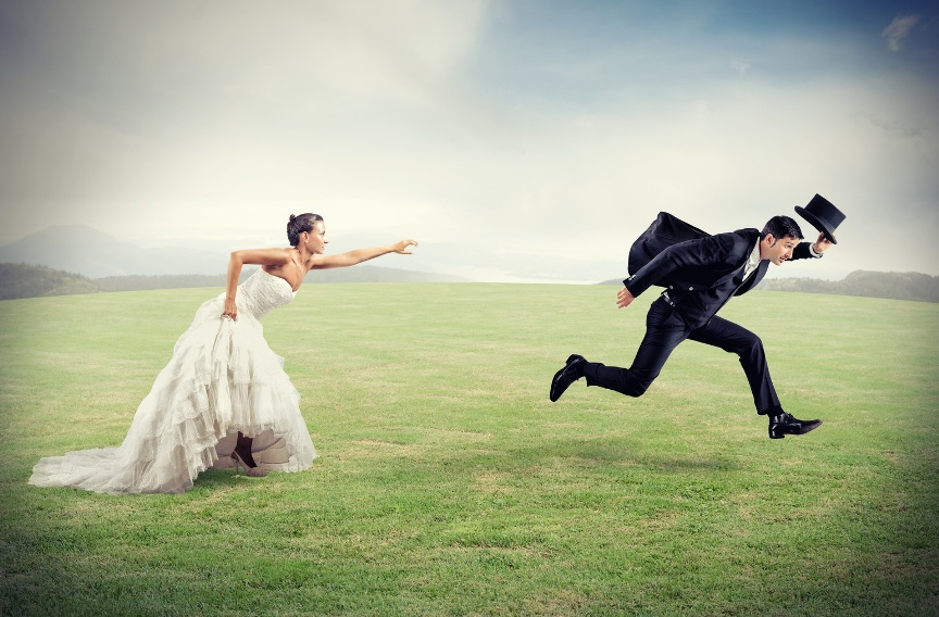 Жених убегает от невесты картинки