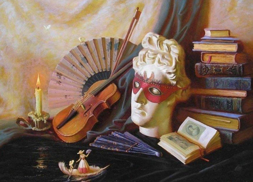 Стих и картинка по искусству