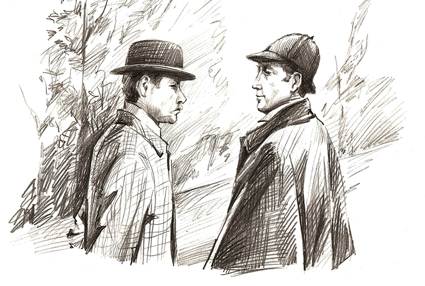 трудно картинки шерлок холмса и ватсона может быть