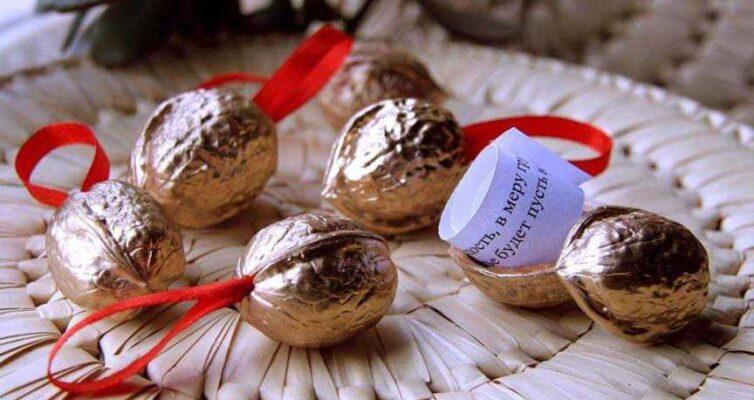 Орешки с секретом - отличная идея для игр, подарков и сюрпризов
