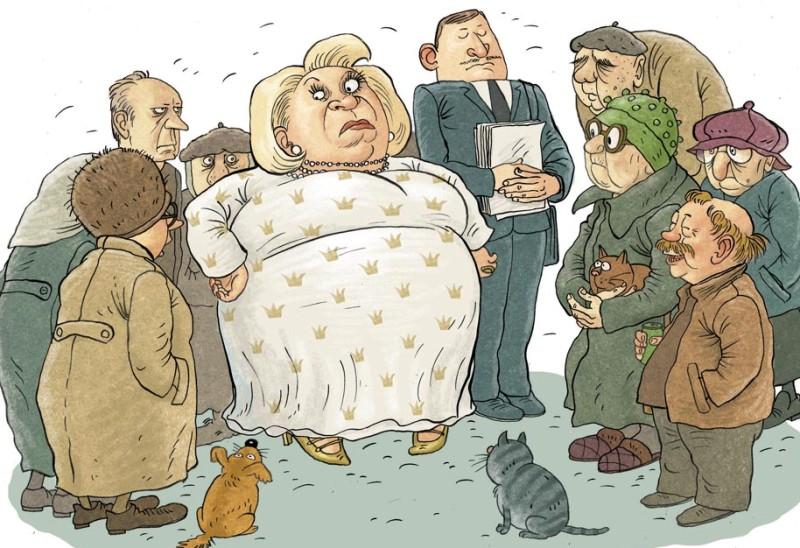 prikolnye-anekdoty-s-politicheskim-uklonom-risunok-chinovnik-v-derevne-sobranie-s-narodom