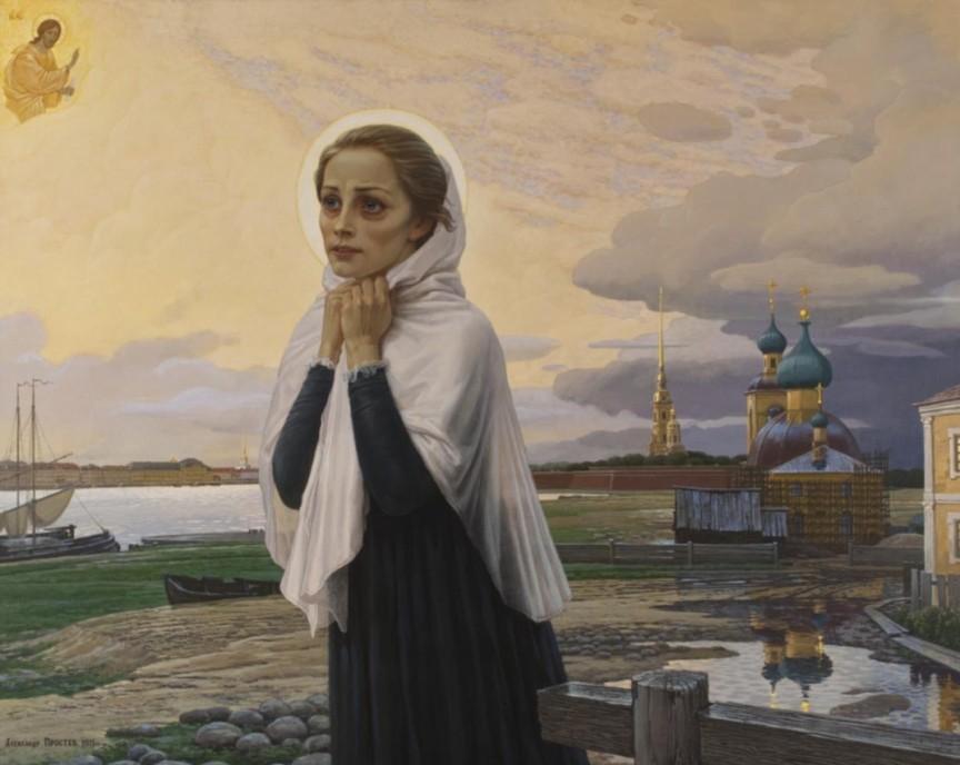 segodnya-6-fevralya-den-pamyati-blazhennoj-ksenii-peterburgskoj-komu-pomogaet-svyataya-kartina-svyataya-kseniya-peterburgskaya