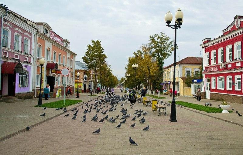 gorod-semyonov-ploshhad-lenina-nizhegorodskaya-oblast
