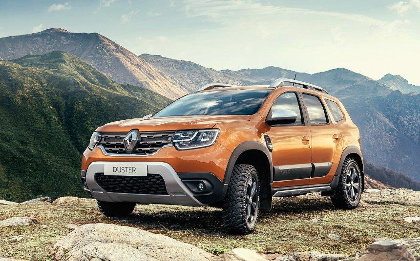 novyj-reno-daster-Renault-Duster-2-pyat-komplektatsij-2021-goda-foto-harakteristiki-i-tseny-vid-s-peredi